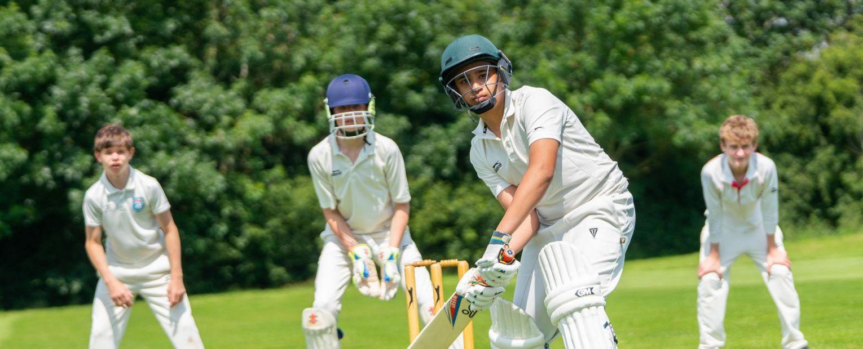 school cricket players
